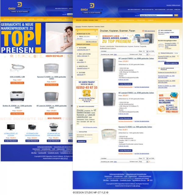 Digipartner Online-Shop