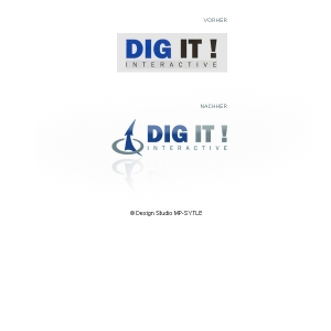 DIG IT! Inetractive - Logoredesign