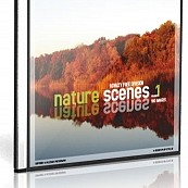 Cover- und Labeldesign für Millerart-Photo-CDs - nature scense