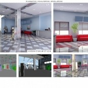 3D-Visualisierung: Infocenter (Interior)